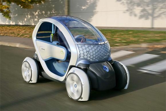 Renault Twizy - самый дешевый электромобиль?