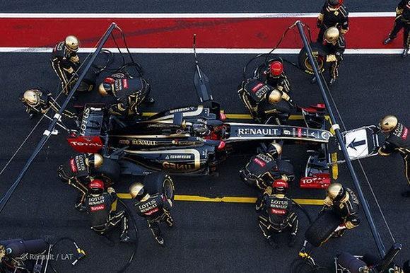 Электромобиль Renault для Формулы 1