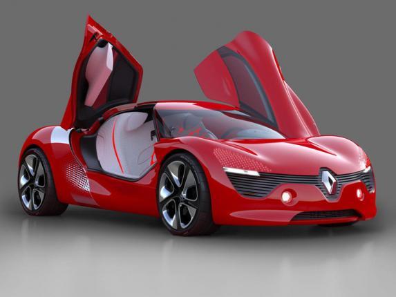 Электромобиль DeZir Renault