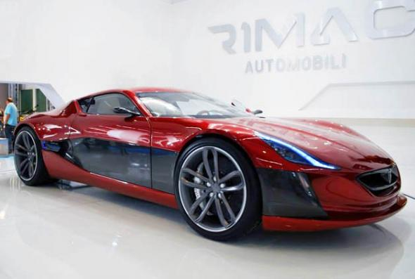 Электромобиль Rimac Concept One