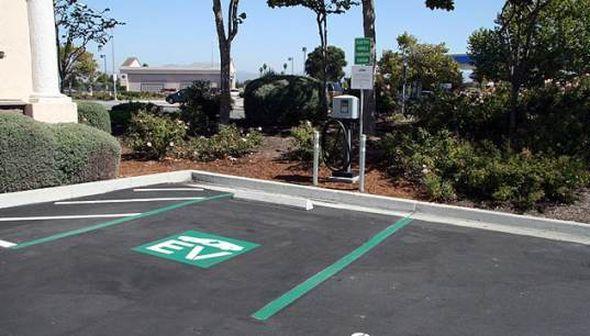 дорога для электромобилей