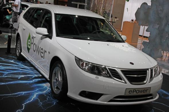 электромобиль Saab