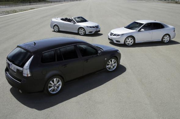 Электромобиль Saab 9-3 SportCombi