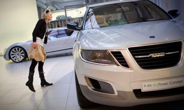 Saab впервые выпустит электромобиль