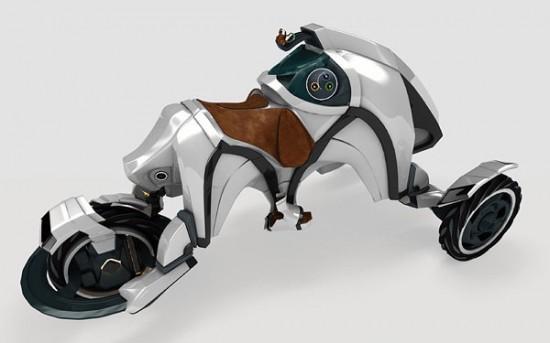 Внедорожный байк Saddle