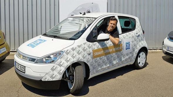 Электромобиль Smart Urban Vehicle