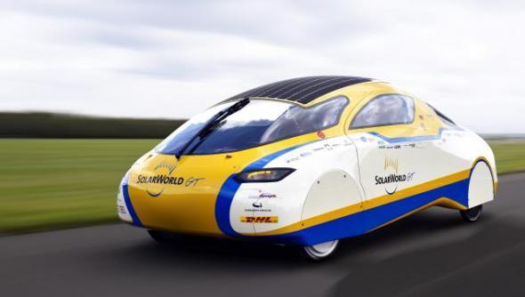 Электромобиль SolarWorld GT