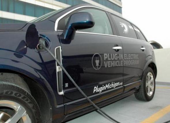 Спрос на электромобили