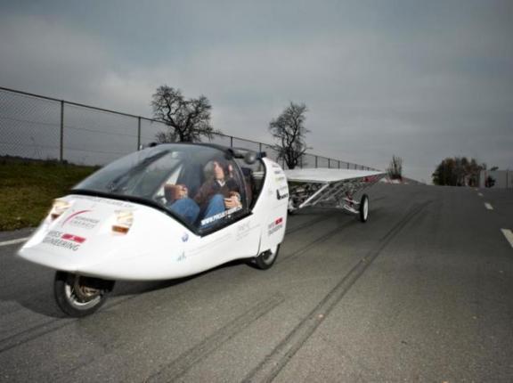 Stella: четырехместный электромобиль