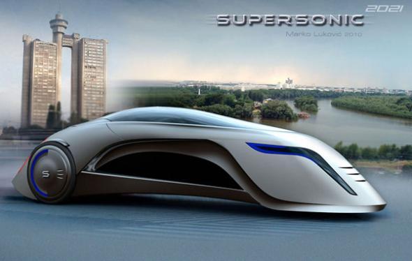 Электромобиль Supersonic