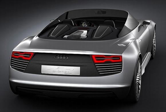 Гибрид Audi Spyder