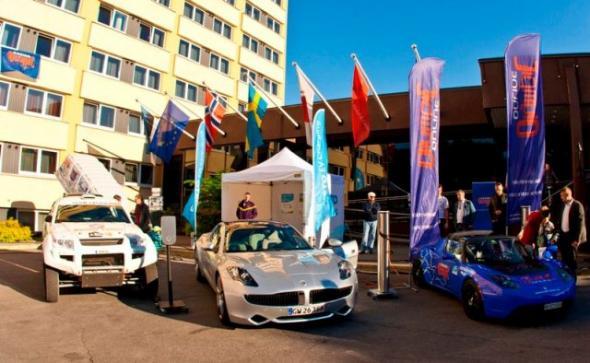 марафон электромобилей Таллинн – Монте-Карло 2013
