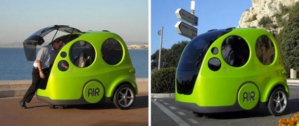 Нестандартные городские автомобили