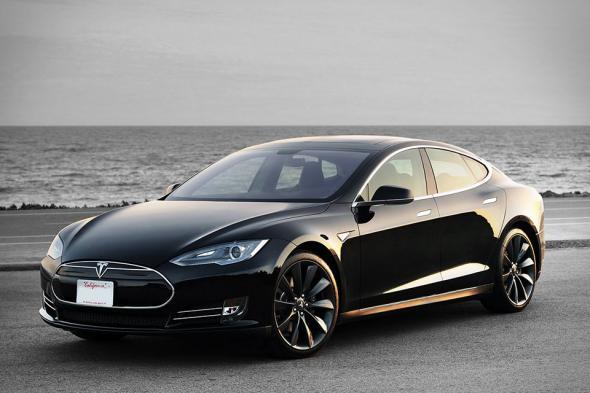 Электромобиль Tesla Model S P85D