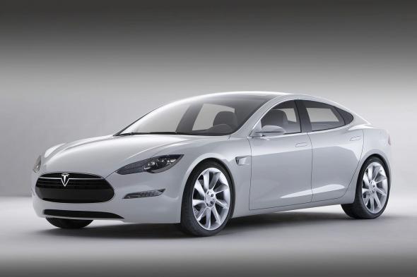 Электромобиль Tesla Model S