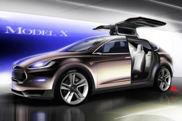 Электромобиль Tesla: Model X