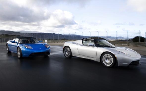 Tesla Motors робомобиль с автопилотом