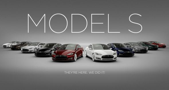 Электромобиль Model S