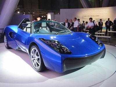 4 млн долларов на мини-электромобиль-пушинку