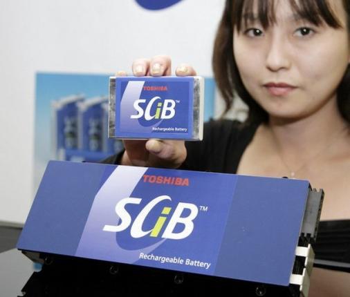 Батареи Toshiba