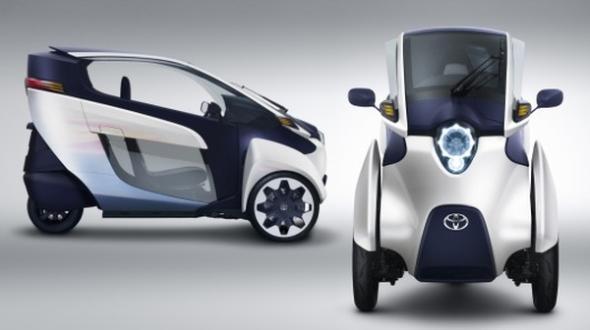 Электромобиль  i-ROAD