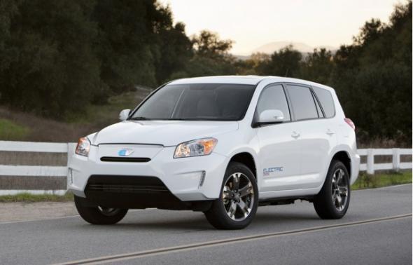Toyota электрический RAV4