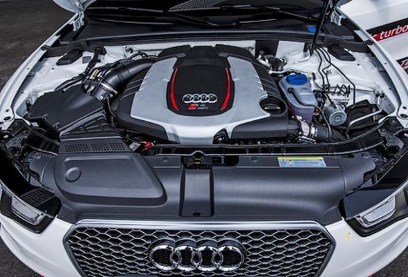 Электрическая турбина для мотора Audi