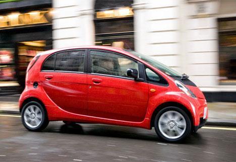 Электромобиль Mitsubishi i-MiEV идет к региональным покупателям