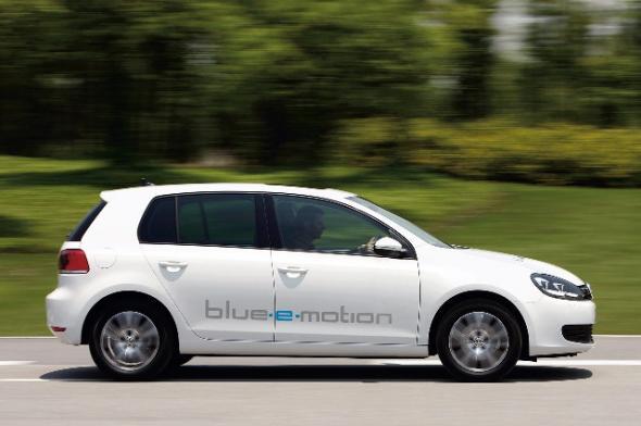 Электромобиль VW Golf