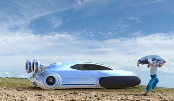 Электромобиль Volkswagen Aqua – авто будущего