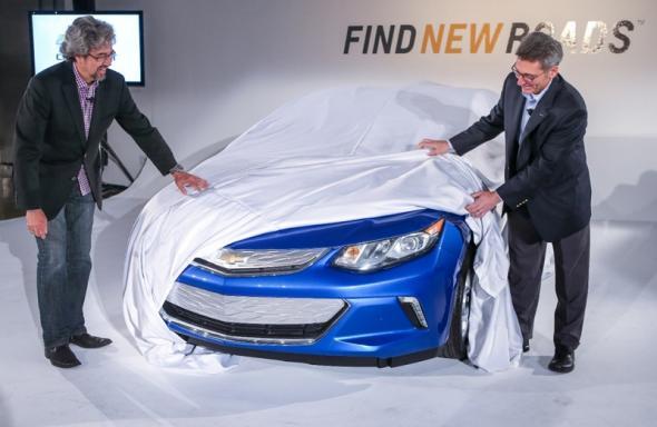 Chevrolet Volt будущего поколения