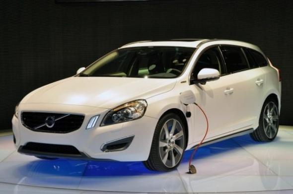 Volvo дизель-электрические гибриды