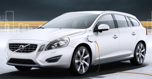 Гибрид Volvo V60 Plug-in Hybrid