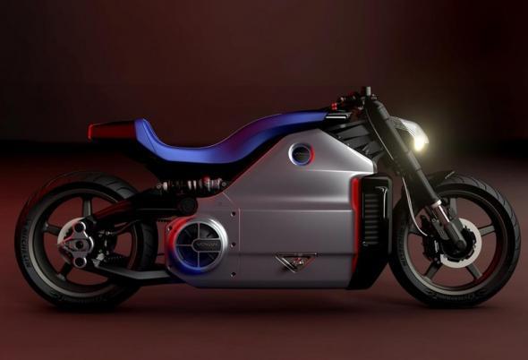 электромотоцикл Voxan Wattman