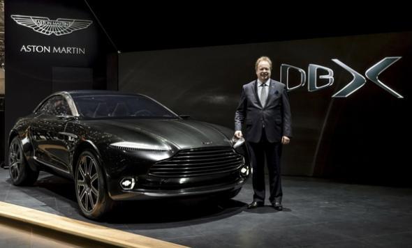 Электромобиль Aston Martin DBX