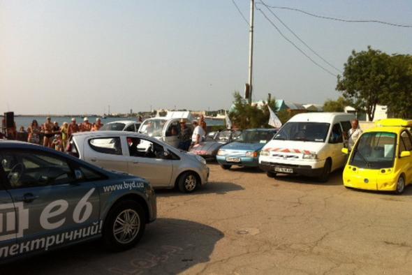 В Ялте электромобили от энтузиастов