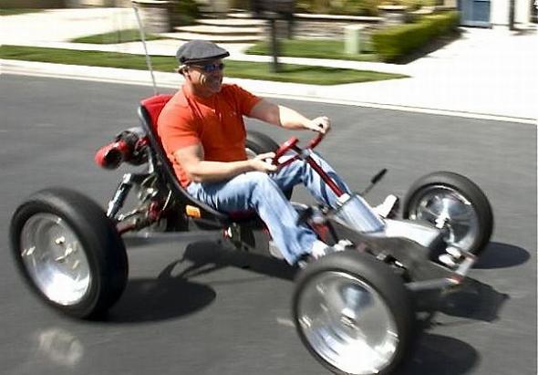самодельный электромобиль