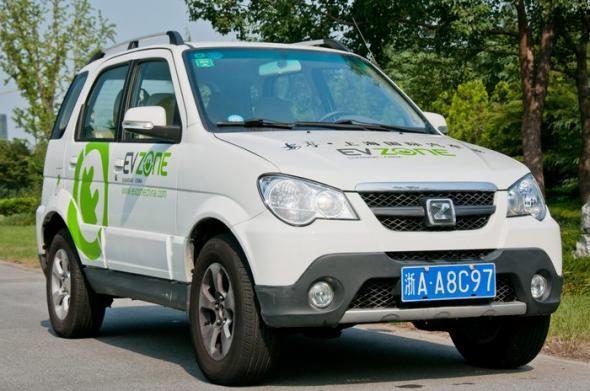 Zotye 5008EV – китайский электрический кроссовер