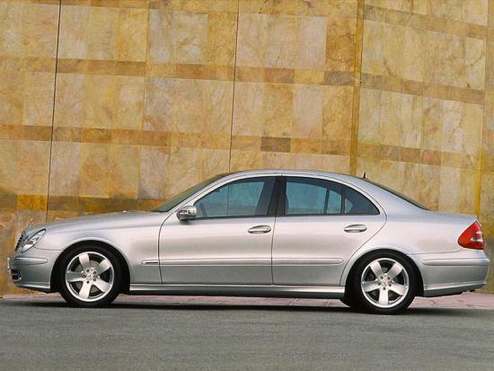 mercedes e-class 2002 09